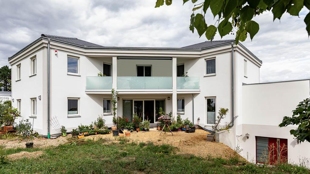 Verputz Außenfassade Verputzarbeiten Rohbau Schoppmeyer GmbH Projekte Portfolio
