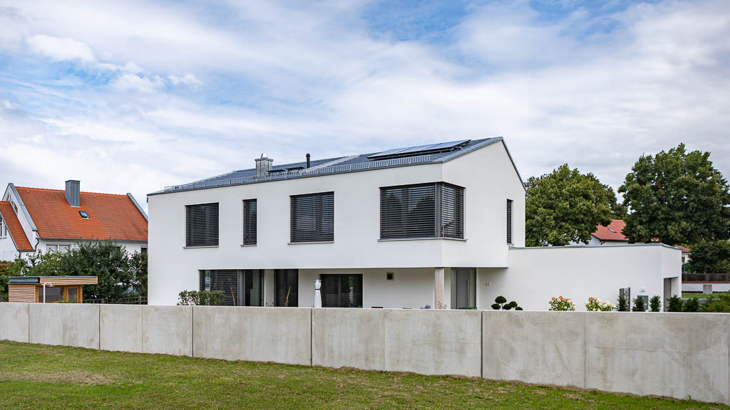 Neubau Schoppmeyer GmbH - EFH Ingolstadt 2019-2020